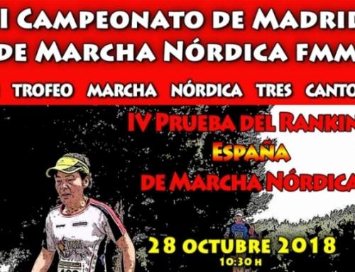 II CAMPEONATO DE MADRID DE MARCHA NÓRDICA FMM