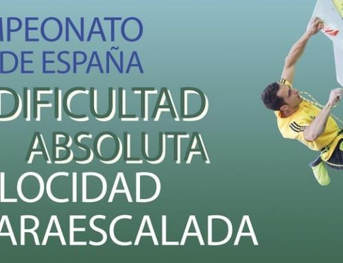 Campeonato de España de escalada.